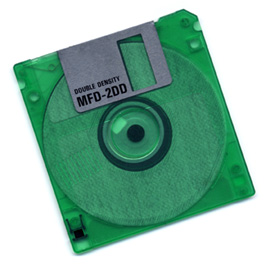 An old floppy disk